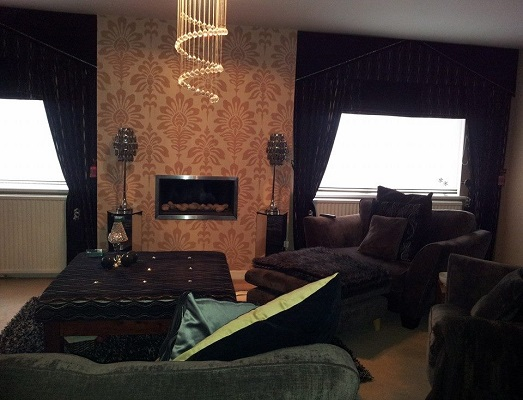 made to measure curtains and roman blinds
